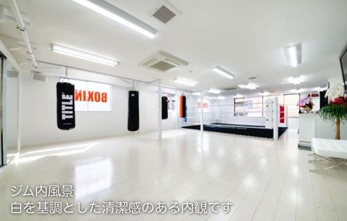 パンチアウト新小岩店ジム内画像