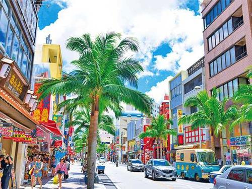 那覇市国際通りの画像