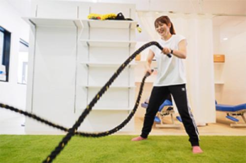 AQUA PLUSのトレーニング画像