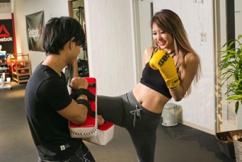 Kick box style 福島の画像