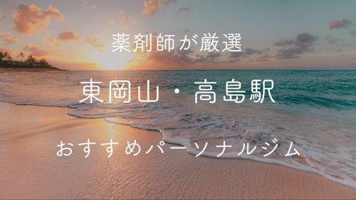 東岡山・高島駅のパーソナルトレーニングジムおすすめ2選の画像